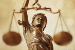 Balancing the scales of justice.