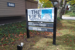 The P.I.E.R. detox center in Traverse City.