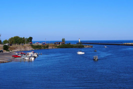 Manistee Harbor.