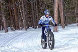 Fat tire or snow biking is more popular than ever up north.
