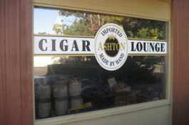 Nolan's Cigar Bar is now open.