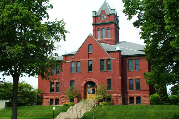 Grand Traverse County Courthouse.