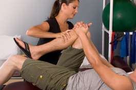 Physical therapy is offered at Fyzical Therapy and Balance