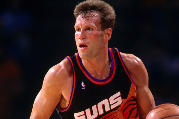 Majerle during his time with the Phoenix Suns.