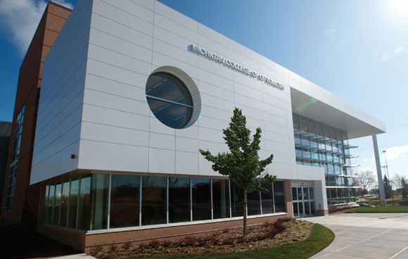 Michigan College Of Optometry Has New Vision At Ferris State