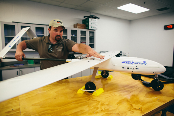 Northwest Michigan cornering the drone market