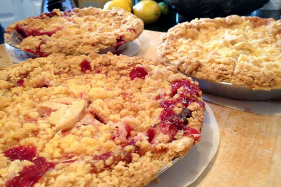 Search for best pie visits Grand Traverse Pie Co.