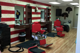 Blades Barber Shop in Gaylord.