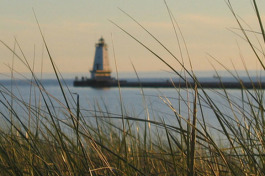 Ludington, Michigan.