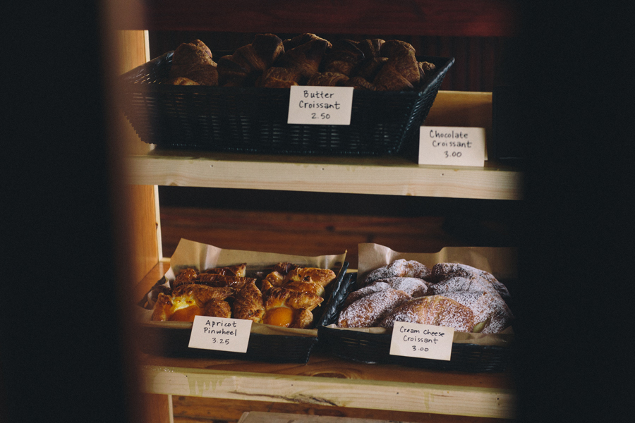 A sample of what is offered from the bakery.