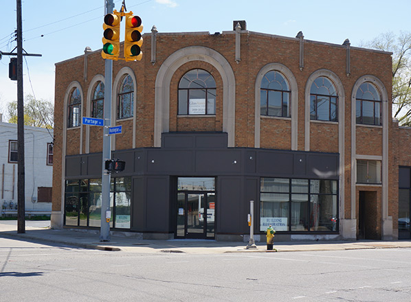 The newly renovated 1301 Portage Street as it is in 2016.