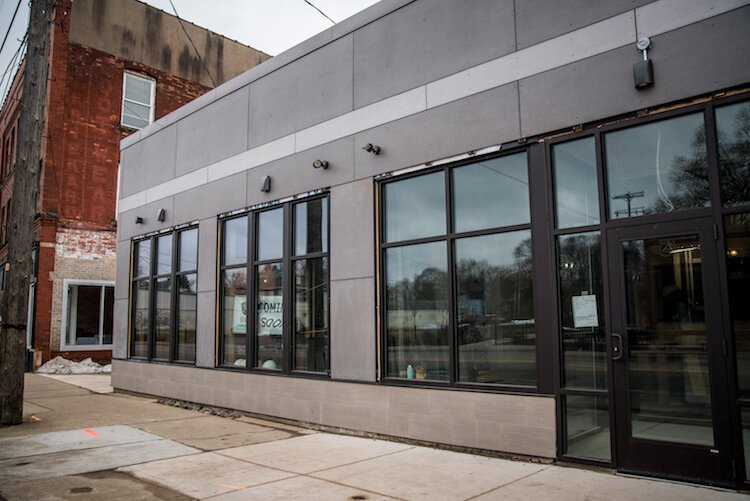 The former Kalamazoo Color Lab building is being renovated into a diner that provides culinary arts and hospitality training for KPEP.