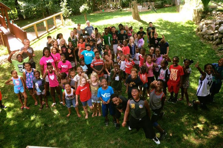 "In the summers, Peace House is a happening place as this 2017 ""Family Photo"" demonstrates."