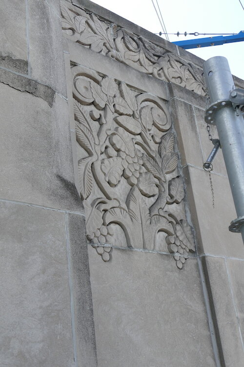 Art deco flourishes are found in many place in The Milton.