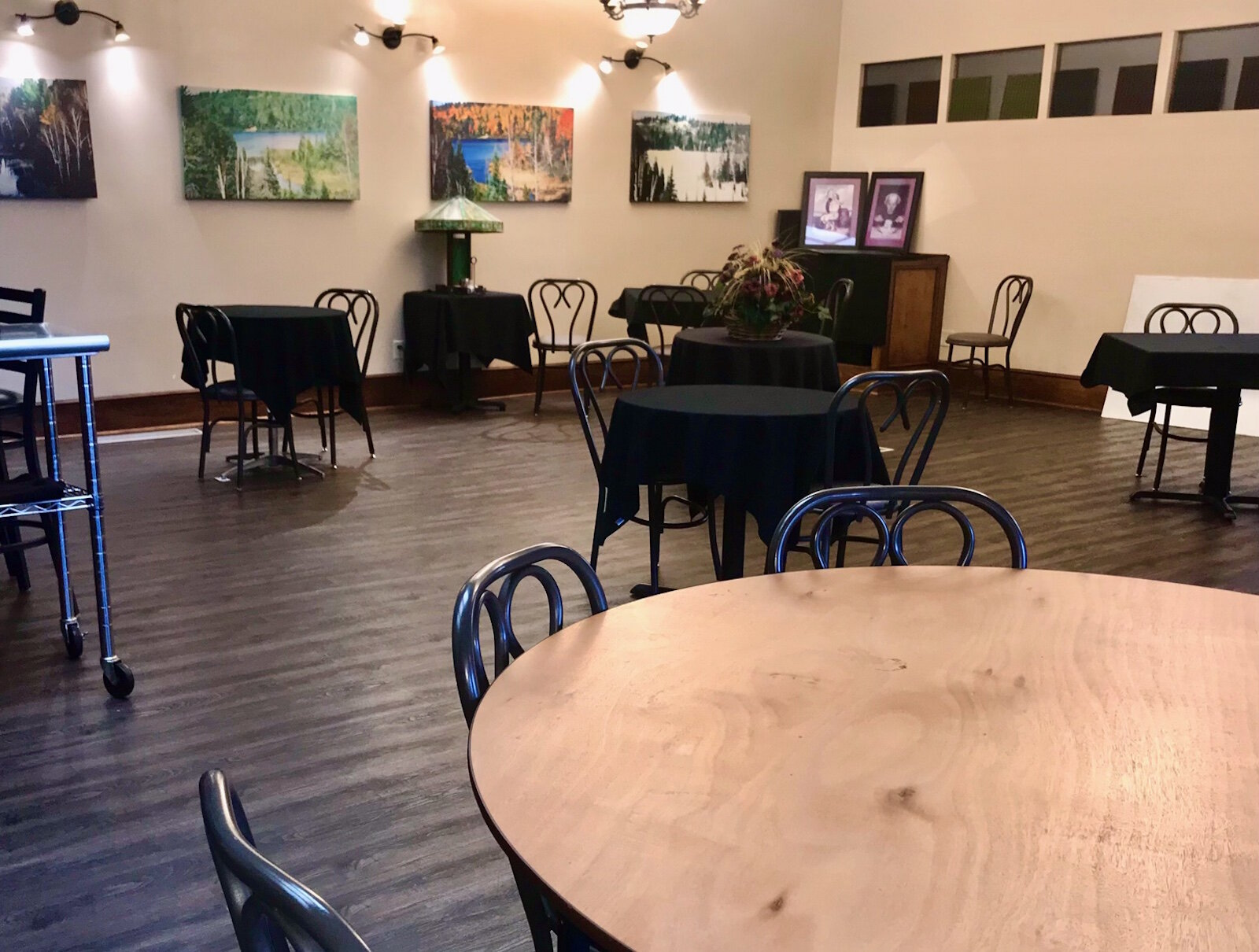 What was used as an overflow dining room during busy nights and as a private events area before the COVID pandemic, has enabled Comensoli's to do proper social distancing as more indoor dining has been allowed.
