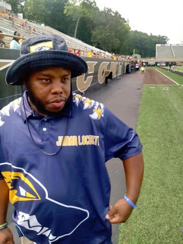 Coach Jug (Jamar Lockett), one of the founding parents, has seen the organization grow from serving 35 youth its first year to serving 75 its third year.