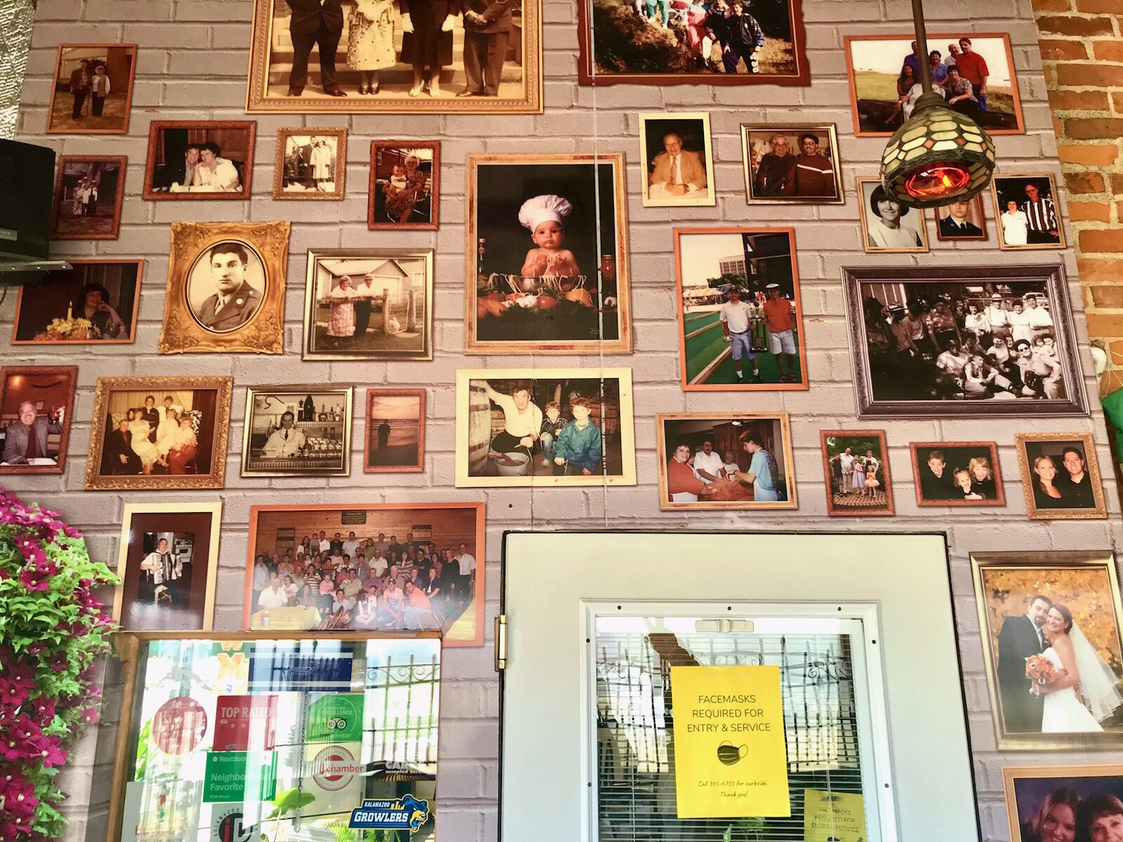 The menu at Comensoli's Italian Bistro is made primarily of recipes contributed by members of the Comensoli family, who immigrated to Michigan from Italy two generations ago.