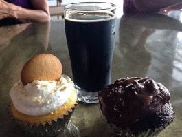 Beer and cupcakes