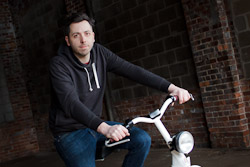 Fido creator strives for lots of fun on two wheels