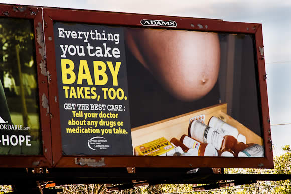Baby Takes Too Billboard