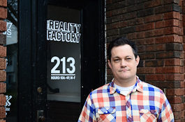 Daniel Kastner, owner of The Reality Factory, 1977 Mopeds and Indigan