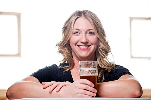 Amy Waugaman of Boatyard Brewery