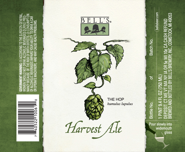 Bell�s Harvest Ale