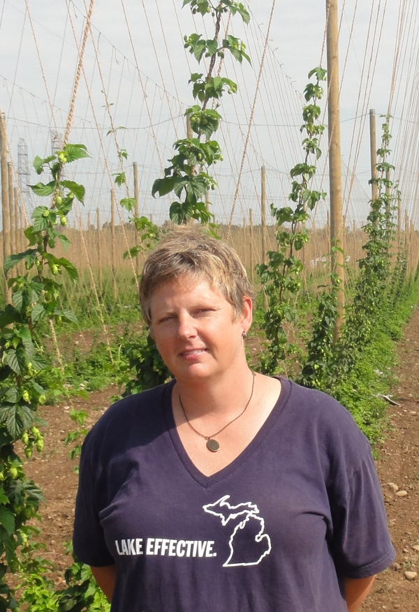 Bonnie Steinman, co-owner of Hop Head Farms