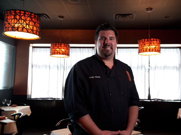 Chef Andy Havey, Executive Chef at Bold