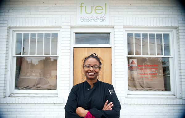 Owner and Executive Chef of Fuel Chef Denise Miller.