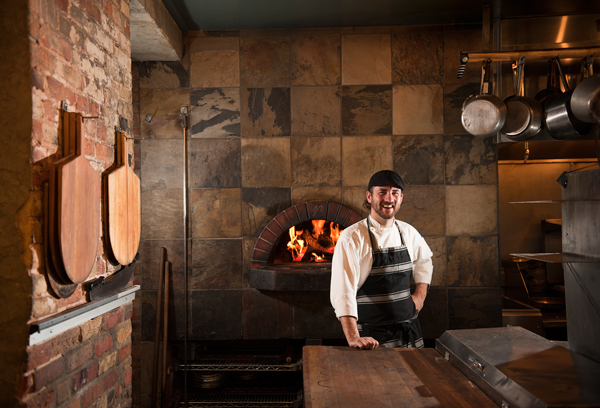 Chef Matthew Pietsch of Salt of the Earth in Fennville, Michigan.