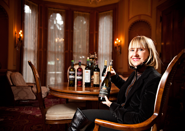 Christine Skandis, founder of Skandis Fine Wines