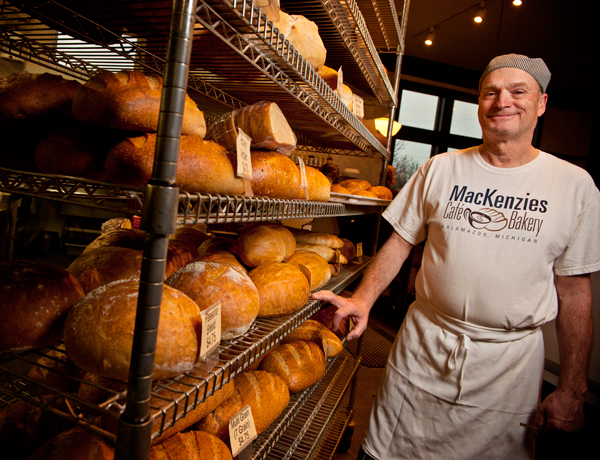 John MacKenzie is President and Owner of MacKenzies Bakery
