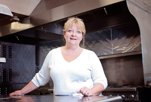 LIsa Croteau manager of the Niles Entrepreneurial Culinary Incubator