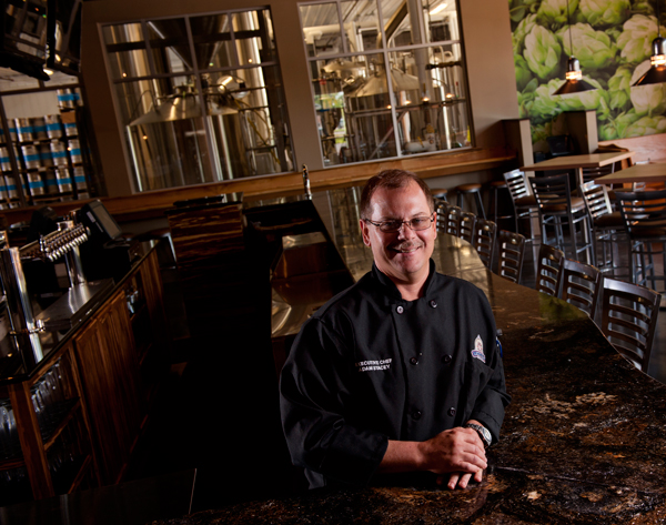 Latitude 42 Brewing Company's Executive Chef Adam Stacey