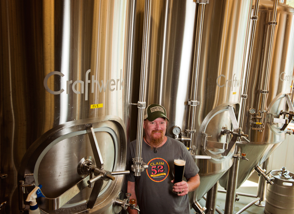 Latitude 42 Brewing Company's Master Brewer Scott Freitas