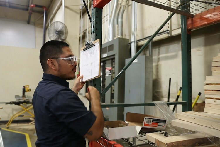 The Momentum Program of Urban Alliance teaches skills participants take into the worksplace, such as this employee at Getman.