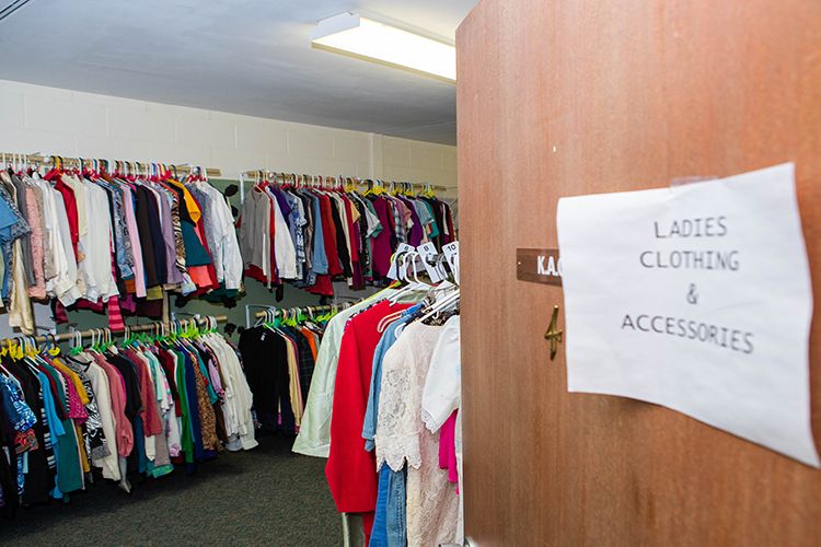 The Clothes Closet at Christ United Methodist Church in Urbandale is one of the services it provides for neighbors.