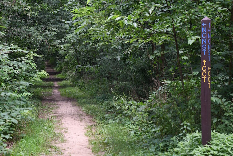 The Ott Preserve, off Michigan Avenue in Emmett Township, has trails available for walking, running, or biking.