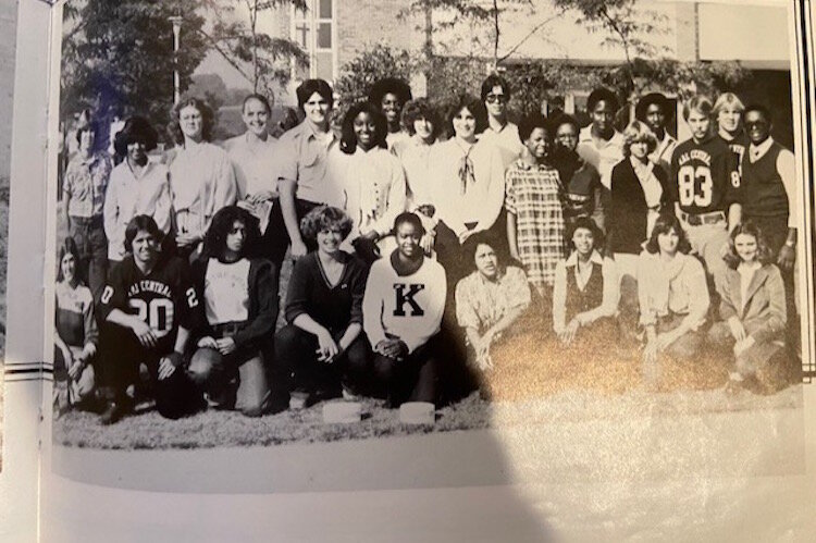 A spokesman for the Kalamazoo Central high school class of 1980 says it was a great very cohesive group of students.
