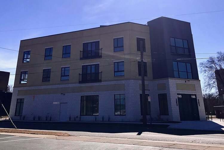 The Creamery is a three-story, 48-unit apartment building that also has office space and houses the YWCA of Kalamazoo's Edison Children's Center, a 24-hour daycare center.