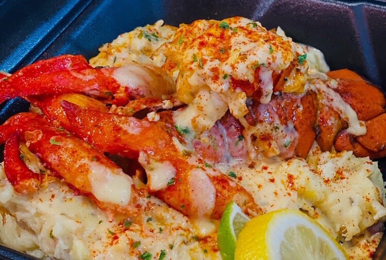 On the menu for the new Creole 'n' Soul restaurant will be this dish, Louis V Lobster.