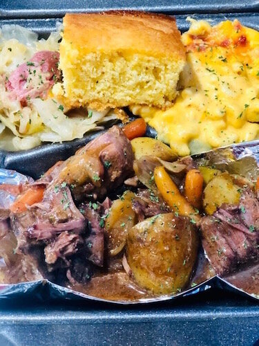 Here is an image of a dish from the Soul Food menu that will be available at the soon-to-open Creole 'n' Soul restaurant at 702 Douglas Ave. in Kalamazoo.
