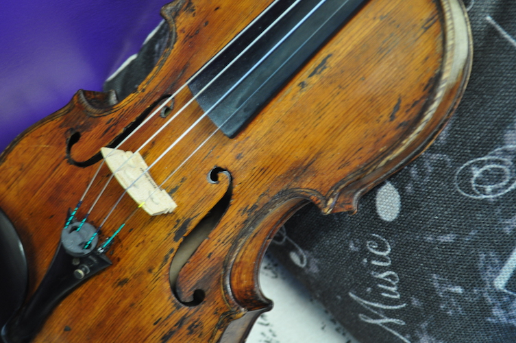Students can take lessons in violin, viola, cello or piano, regardless of their ability to pay, at the Helen Fox Gospel Music Center.