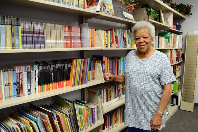 "Ten years ago Dorothy Kemp began with the KLC as a ""friendly connector,"" a person who matches learners with students. She then started tutoring."