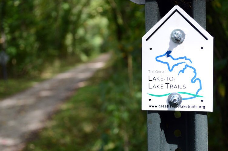 Great Lake-to-Lake Trail route #1 stretches 275 miles from South Haven to Port Huron.