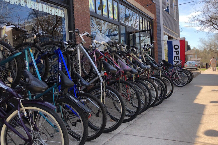 Kzoo Swift, which grew out of a hobby of fixing and flipping bikes, continues to grow its business.