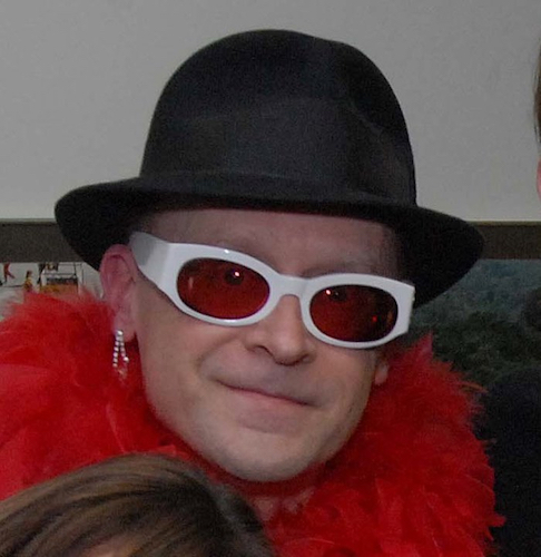 John Head, a former newspaper editor and Elton John tribute artist has found a home in Edison. Photo Courtesy John Head