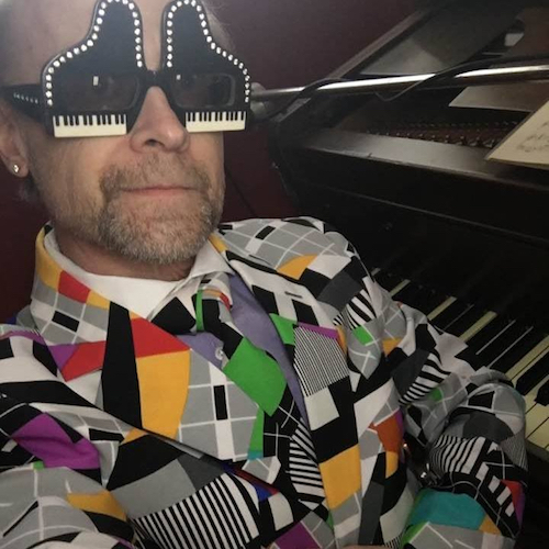 John Head, an Elton John tribute artist is one of many artists who are attracted to Edison. Photo Courtesy John Head