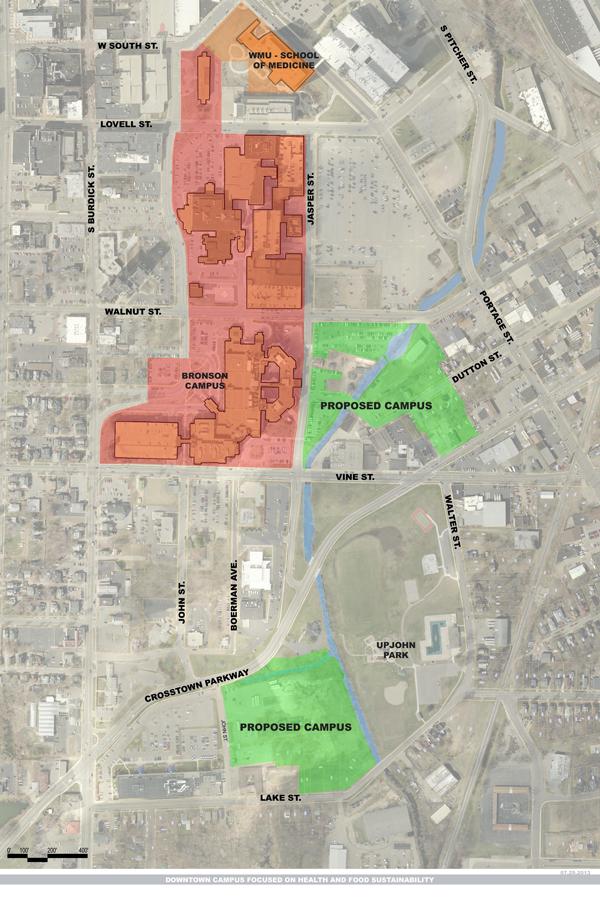 Bronson donates land for KVCC food, health and wellness campus on kvcc texas township campus map, chemeketa community college campus map, kvcc groves campus center map,